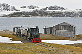 Le train le plus septentrional - NY ALESUND - SVALBARD (04-06-2018 / 13H55)