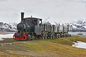 Le train le plus septentrional - NY ALESUND - SVALBARD (04-06-2018 / 14H00)